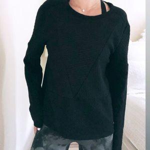 Fabletics Anya L/S Sweatshirt - Black